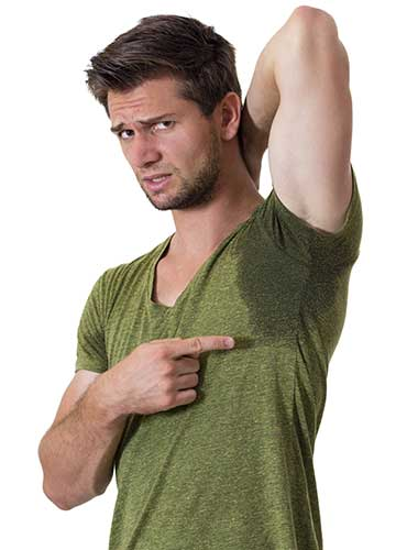 hyperhidrosis armpit
