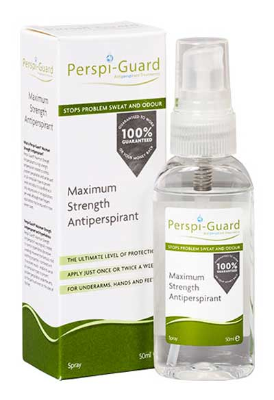 antiperspirant for excessive sweating