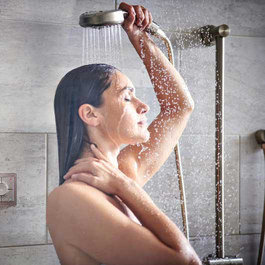 showering excessive sweating