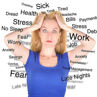 excessive sweating stress
